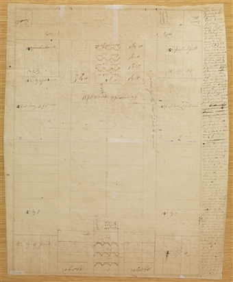 Plan of the House of the Lord, between 1 and 25 June 1833 ... Lord House Plan on green plan, church plan, salvation plan,
