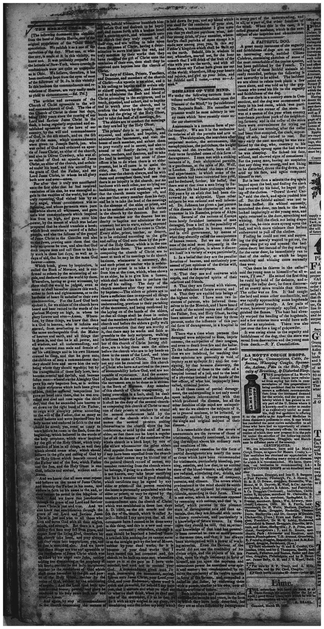 Articles and Covenants, circa April 1830 [D&C 20], Page 4