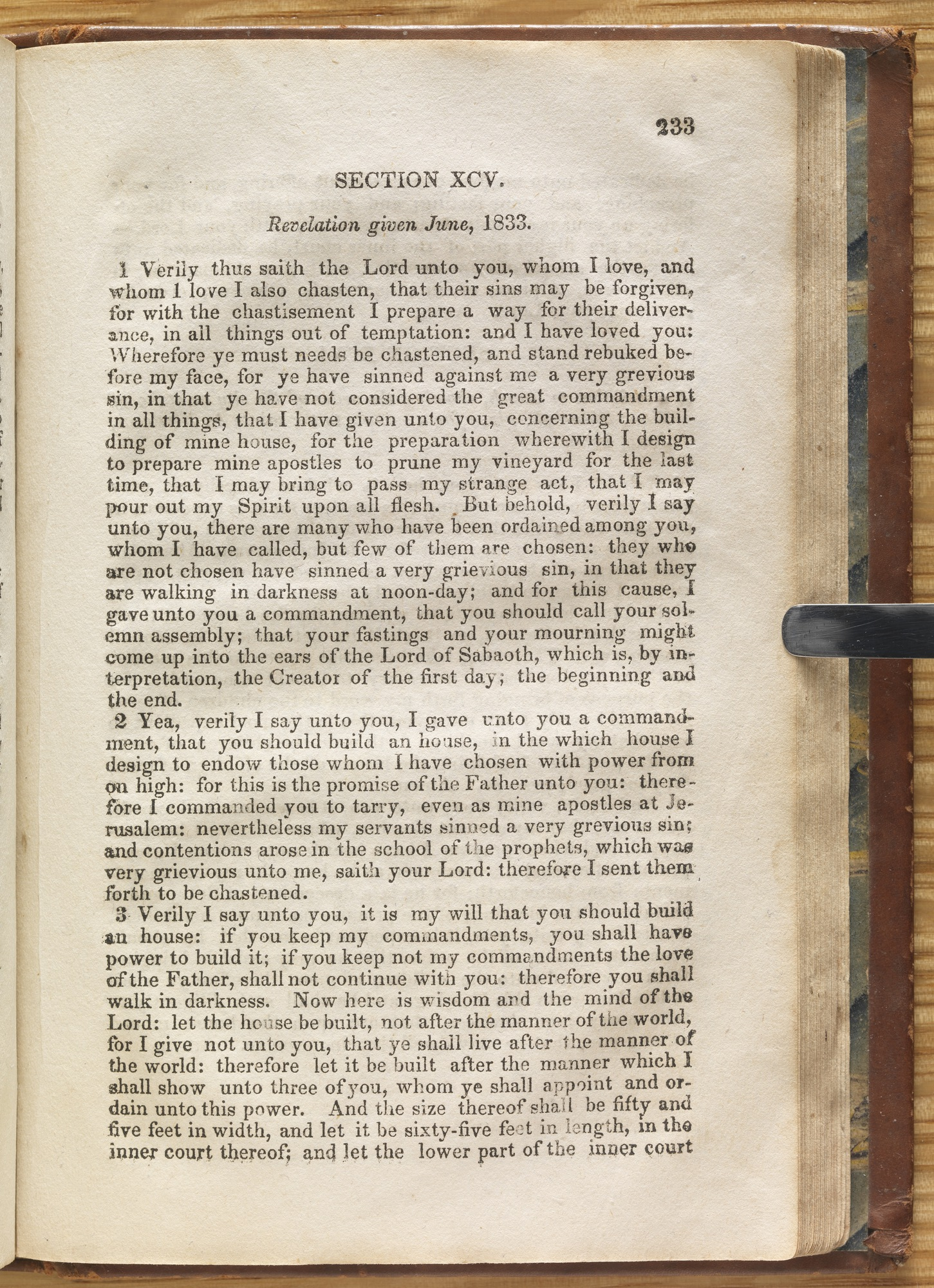 Doctrine and Covenants, 1835, Page 233
