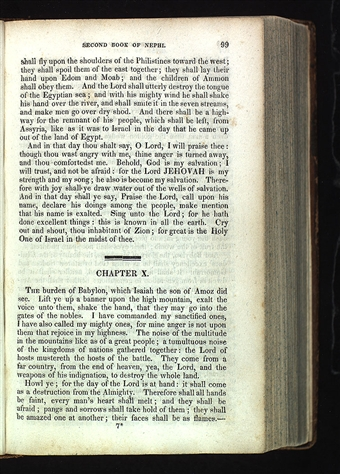 Book of Mormon, 1830, Page 99