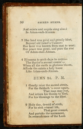 Collection Of Sacred Hymns 1835 Page 30