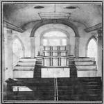 Interior of House of the Lord, Kirtland, Ohio