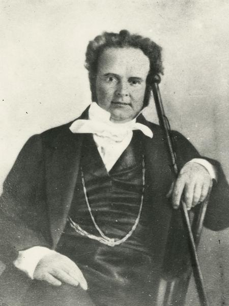 Circa 1845, photograph likely by Lucian R. Foster, copy (Church History Library, Salt Lake City).