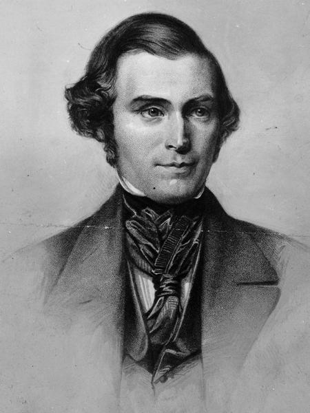 Engraving, Frederick Piercy, circa 1855. (Church History Library, Salt Lake City.)