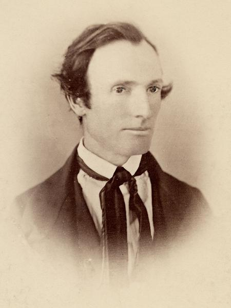 Photograph, unknown photographer, circa 1845. (Church History Library, Salt Lake City. Copy by Coe studio, 1883.)