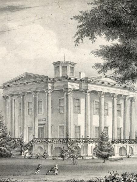 Lithograph, John H. Bufford, 1839. (Courtesy Library of Congress, Washington DC.)