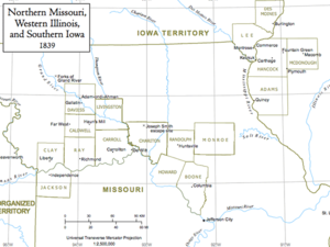Mapthumbmissouripng - Map of northern missouri